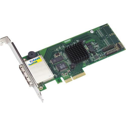 Promise Technology FastTrak TX8668 SAS/SATA RAID PCI Express Adapter (Pack of 5)