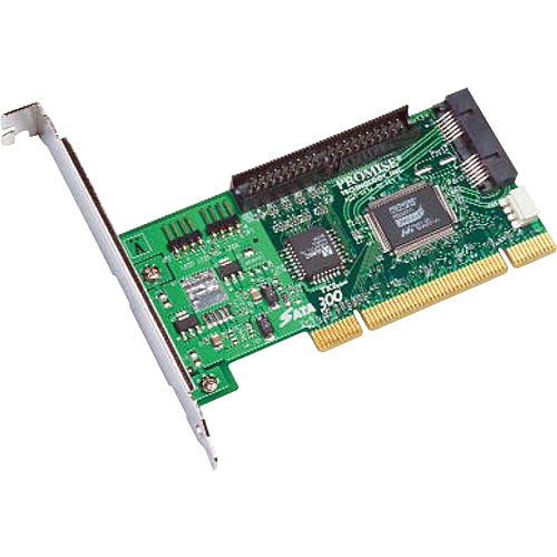 Promise Technology SATA300 TX2+ SATA/PATA 3G PCI Adapter (One Adapter)