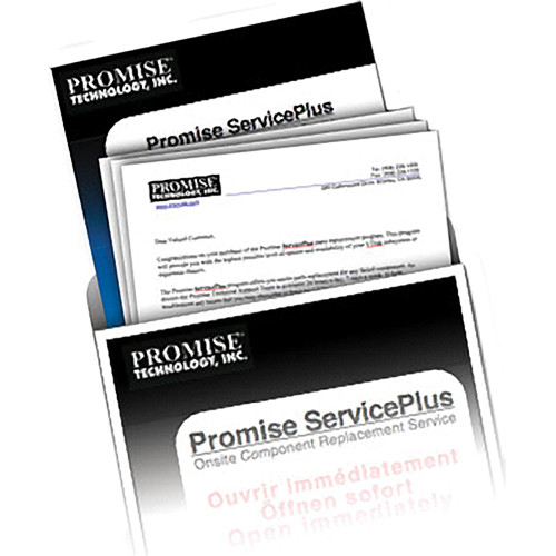 Promise Technology 3-Year Onsite Parts Replacement Service