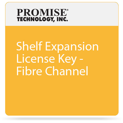 Promise Technology Shelf Expansion License Key - Fibre Channel