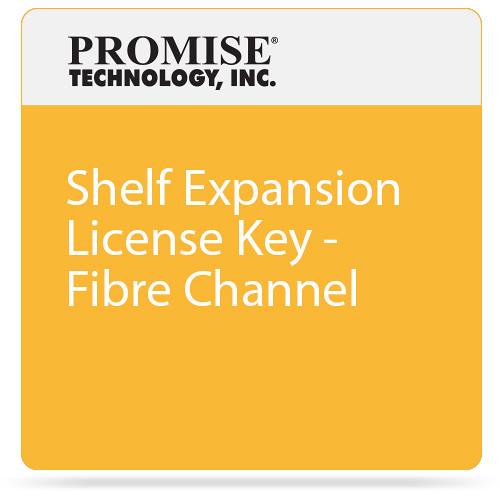 Promise Technology Shelf Expansion License Key - Fibre Channel