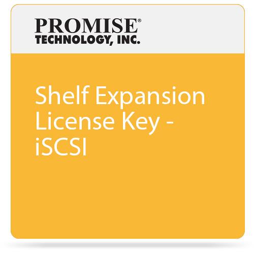 Promise Technology Shelf Expansion License Key - iSCSI