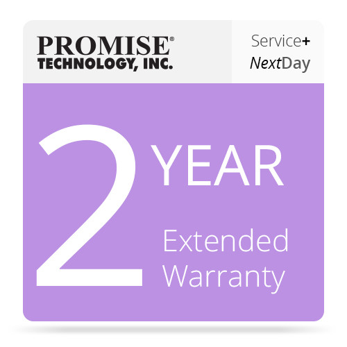 Promise Technology 2 Year Extended Warranty + PROMISE ServicePlus Plan (Next Business Day)