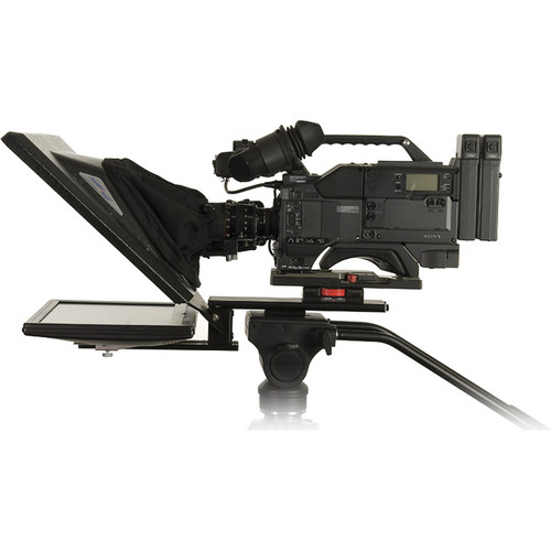 Prompter People Two Flex 17 Studio Teleprompter Kit with Flip-Q Licenses, Controller and Distribution Amp