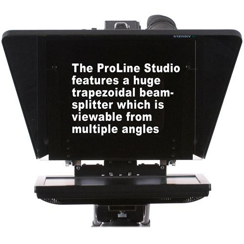 Prompter People ProLine Studio 17 High-Bright Teleprompter
