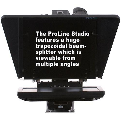 Prompter People ProLine Studio 17 High-Bright Teleprompter