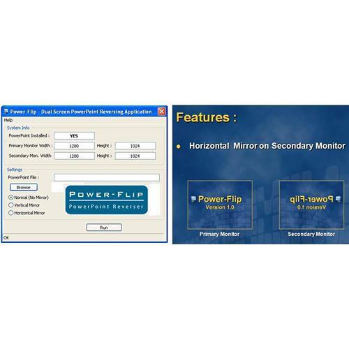 Prompter People SW-D-PF Power Flip Software