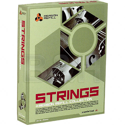 Propellerhead Software Strings Refill Library