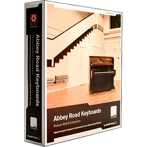 Propellerhead Software Sample DVD:  Abbey Road Keyboards Refill (Reason)