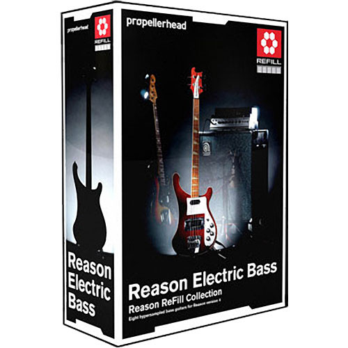 Propellerhead Software Reason Electric Bass ReFill