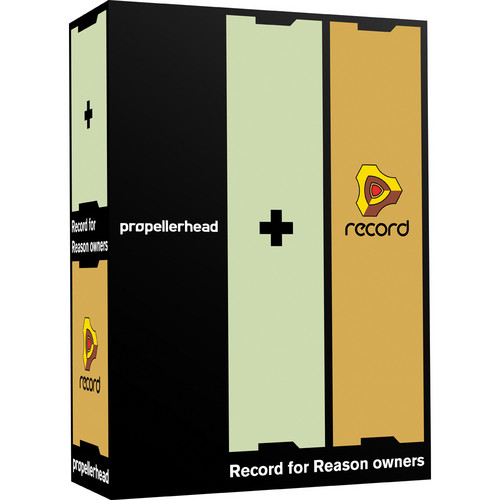 Propellerhead Software Record - Multi-Track Audio/MIDI Recording Software (for Reason Owners)