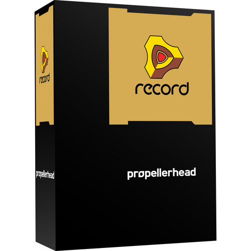 Propellerhead Software Record 1.5 EDU - Audio/MIDI Recording Software (Educational Institution Single Pack)