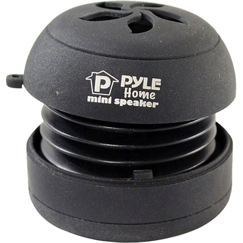 Pyle Home Bass Expanding Rechargeable Mini Speaker (Black)
