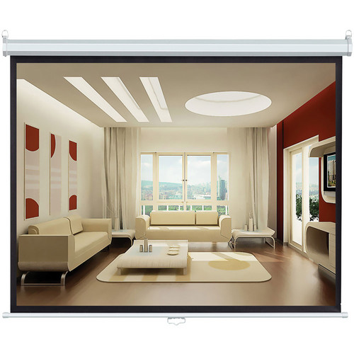 """Pyle Home PRJS4384 Manual Projection  Screen (50 x 67"""")"""