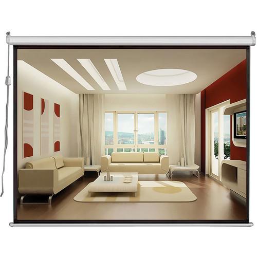 """Pyle Home PRJSE168 Motorized Projection Screen  (39 x 69"""", 110V, 60 Hz)"""