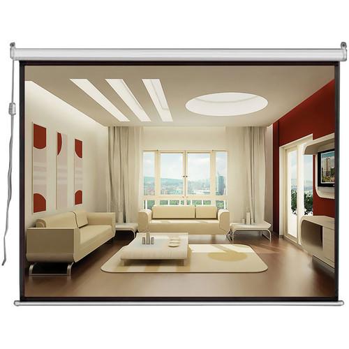 """Pyle Home PRJSE437 Motorized Projection Screen  (43 x 57"""", 110V, 60 Hz)"""
