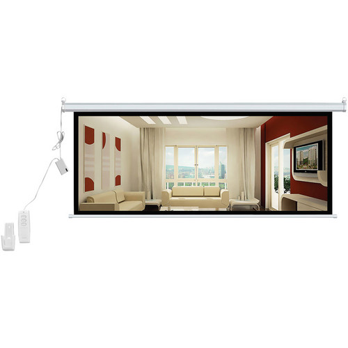 "Pyle Home PRJSER1696 Manual Projection  Screen (47 x 84"")"