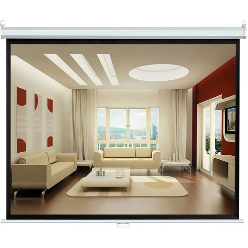 "Pyle Home PRJSL100 Manual Projection Self-Locking Screen (60 x 80"")"