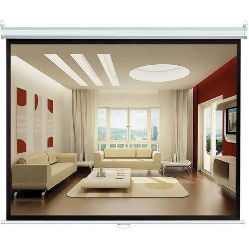 "Pyle Home PRJSL100 Manual Projection Self-Locking Screen (60 x 80"")"