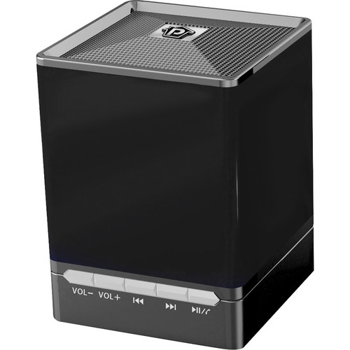 Pyle Home Bluetooth Mini Cube Speaker (Black)