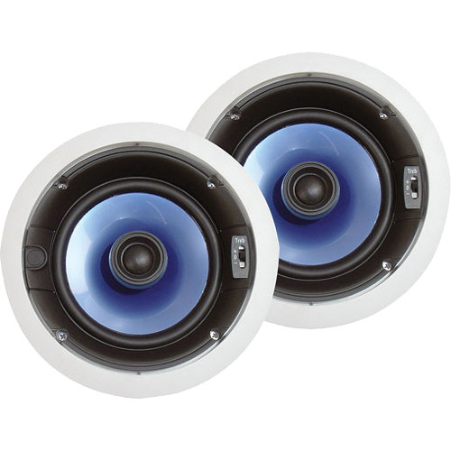 "Pyle Pro PIC6E 6.5"" 250W In-Ceiling Speaker System (Pair)"