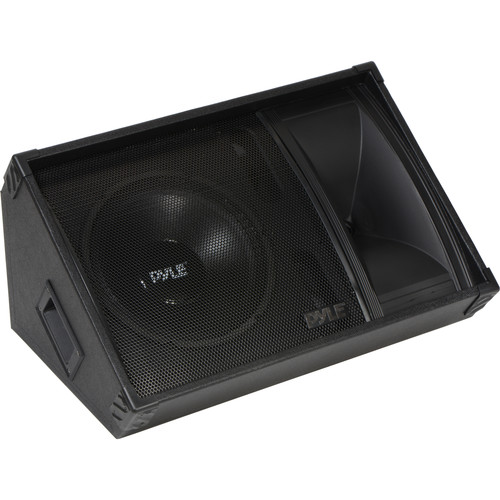 "Pyle Pro PASC12 600W 12"" 2-Way Stage Monitor Speaker"
