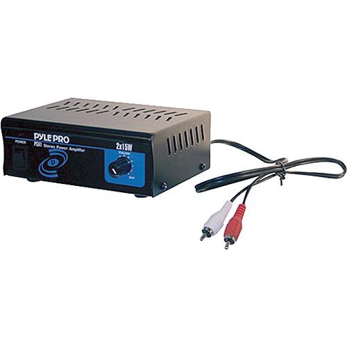 Pyle Pro PCA1 Mini 2 x 15W Stereo Power Amplifier