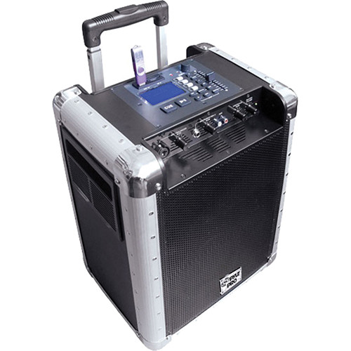 Pyle Pro PCMX265B Battery Powered Portable PA System