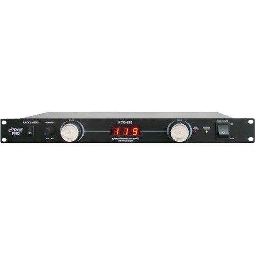 Pyle Pro PCO820 Rack Mounted Power Conditioner