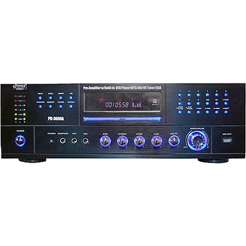 Pyle Home PD3000A  3000W AM/FM Receiver with DVD/MP3/USB Player