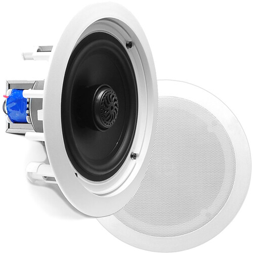 "Pyle Pro PDIC60T 6.5"" Two-Way In-Ceiling Speaker System with Transformer (Pair)"