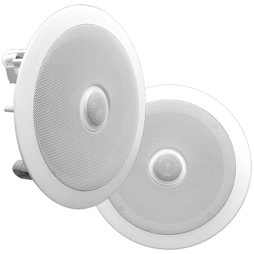 "Pyle Pro PDIC60 6.5"" Two-Way In-Ceiling Speaker System (Pair)"