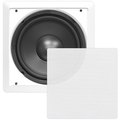 """Pyle Pro PDIWS10 10"""" In-Wall High Power Subwoofer"""