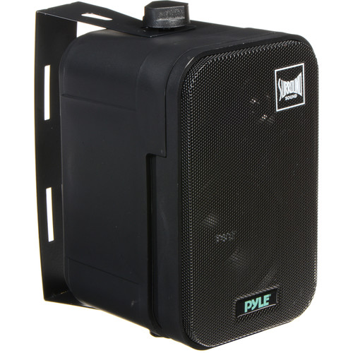 "Pyle Pro PDMN38 3.5"" 2-Way Bass Reflex Mini Monitor/Bookshelf Speakers (Pair)"