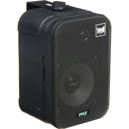 "Pyle Pro PDMN48 5"" 2-Way Bass Reflex Mini Monitor/Bookshelf Speakers (Pair)"