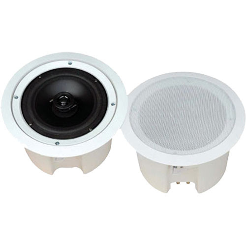 "Pyle Pro PDPC62 6.5"" Enclosed Two-Way In-Ceiling Speaker System (Pair)"