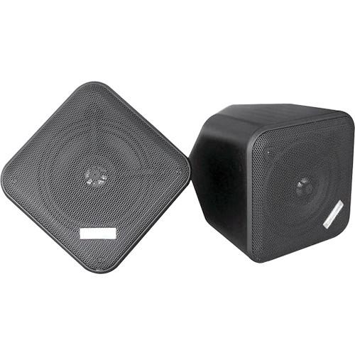 """Pyle Pro PDWP5 5"""" Weatherproof Full-Range Speakers (Black, Pair)"""