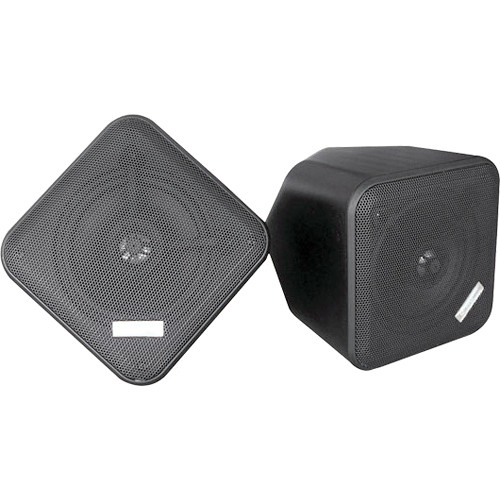 "Pyle Pro PDWP5 5"" Weatherproof Full-Range Speakers (Black, Pair)"