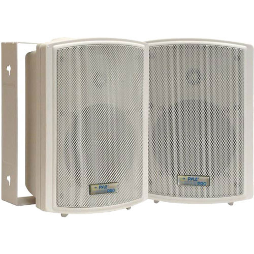 "Pyle Pro PDWR5T 5.25"" Indoor-Outdoor Waterproof Speakers with Transformers (Pair)"