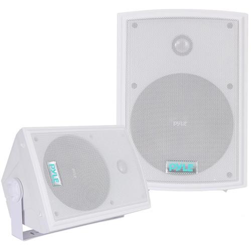 """Pyle Pro PDWR63 6.5"""" Indoor-Outdoor Waterproof Speakers (Pair)"""
