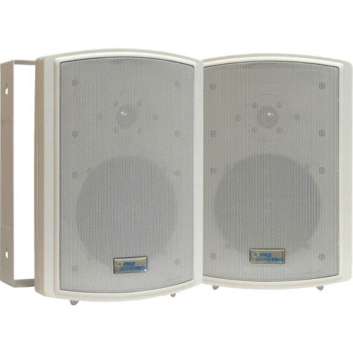 "Pyle Pro PDWR6T 6.5"" Indoor-Outdoor Waterproof Speakers with Transformers (Pair)"