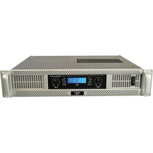 Pyle Pro PEXA3000 Rackmount Stereo Power Amplifier (375W/Channel @ 8 Ohms)