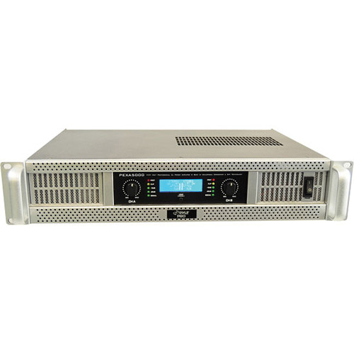 Pyle Pro PEXA5000 Rackmount Stereo Power Amplifier (625W/Channel @ 8 Ohms)