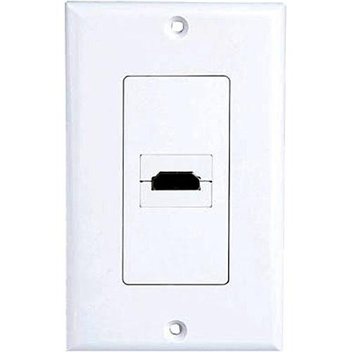 Pyle Pro PHDMIW1 90° Exit HDMI Wall Plate
