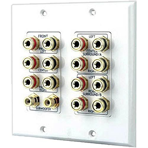 Pyle Pro PHIW71 7.1 Dolby Surround Sound Wallplate