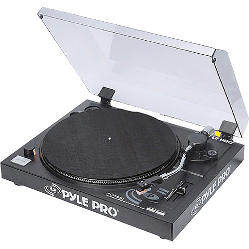 Pyle Pro PLTTB3U Professional Belt-Drive Turntable with USB Output