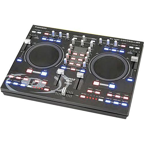 Pyle Pro PMIDI200 Professional Digital MIDI Controller