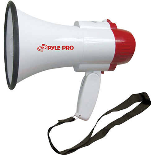 Pyle Pro PMP30 30W Megaphone with Siren (White)