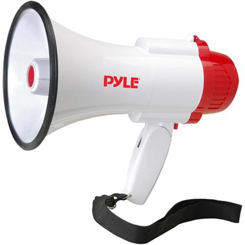 Pyle Pro PMP35R 30W Megaphone with Siren & Internal Recorder