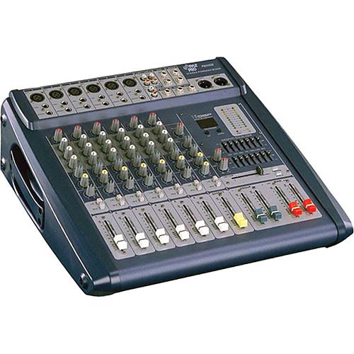 Pyle Pro PMX608 - 500 Watt 6-Channel Powered PA Mixer/Amplifier